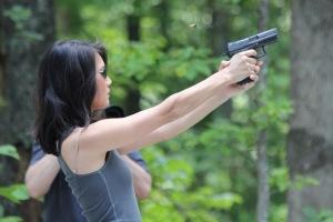 A little target shooting.